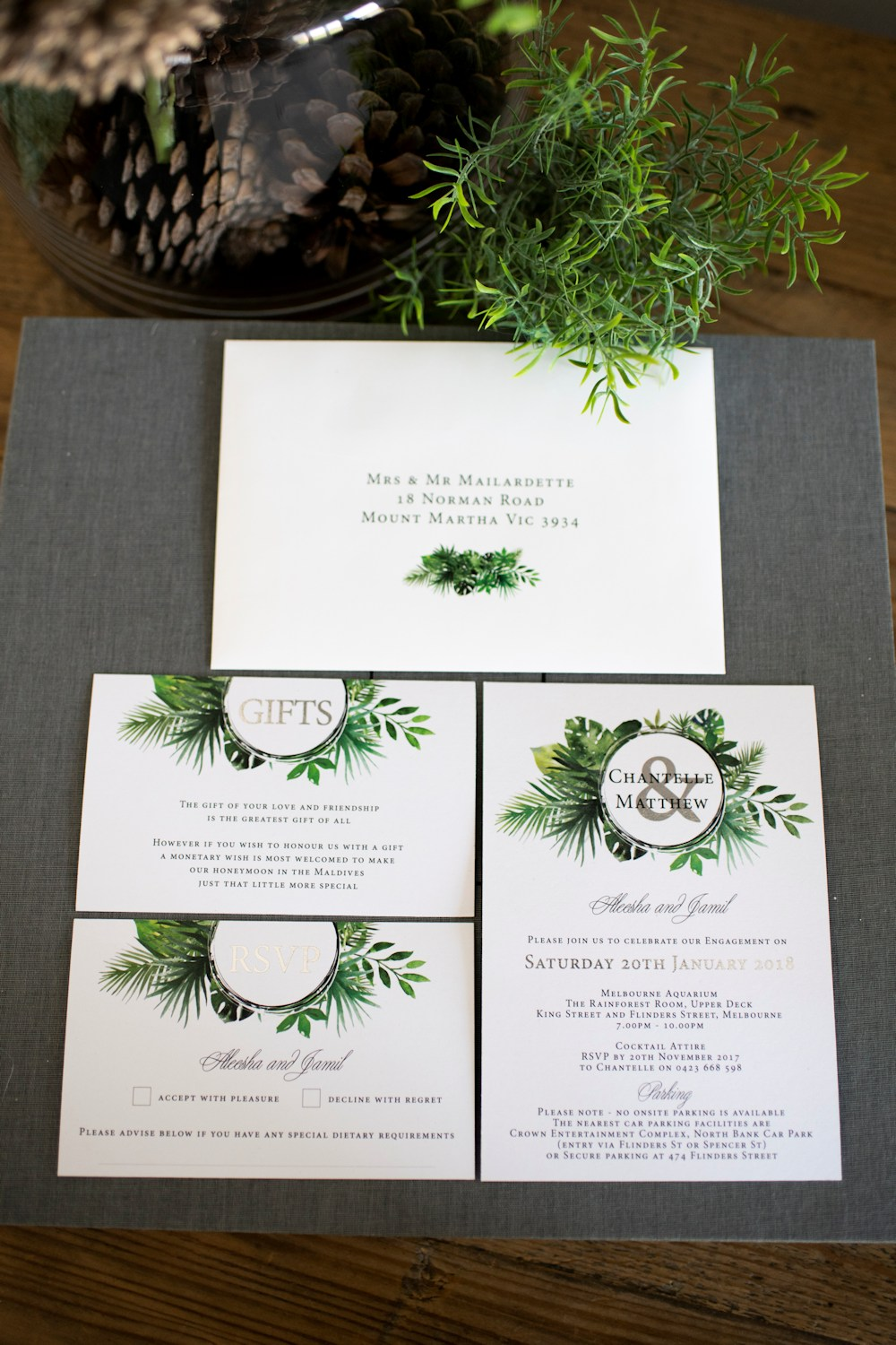 Melbourne Wedding Group Members - Wedding Invitations and Stationery